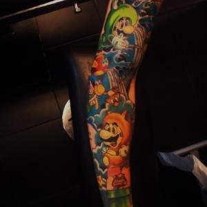 Supermariobros,Sleeve