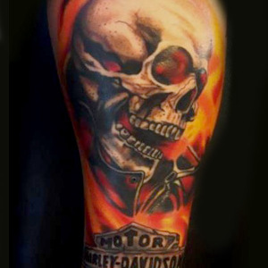 Ghost rider,Skull