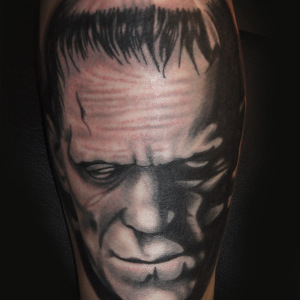 Frankenstein,Black&Grey